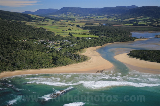 Papatowai,aerial,The Catlins,South Otago,Clutha District