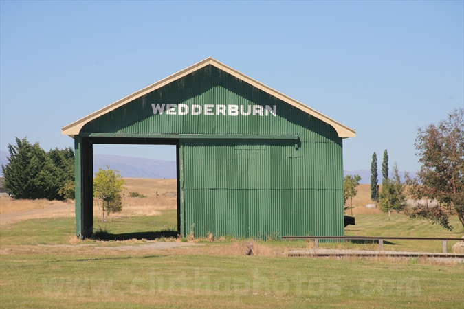 Otago Central Rail Trail,Wedderburn goods shed,Central Otago