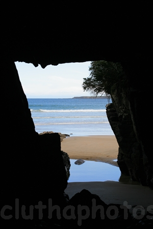 Isa's Cave,Tautuku Bay,South Otago,The Catlins,Clutha District