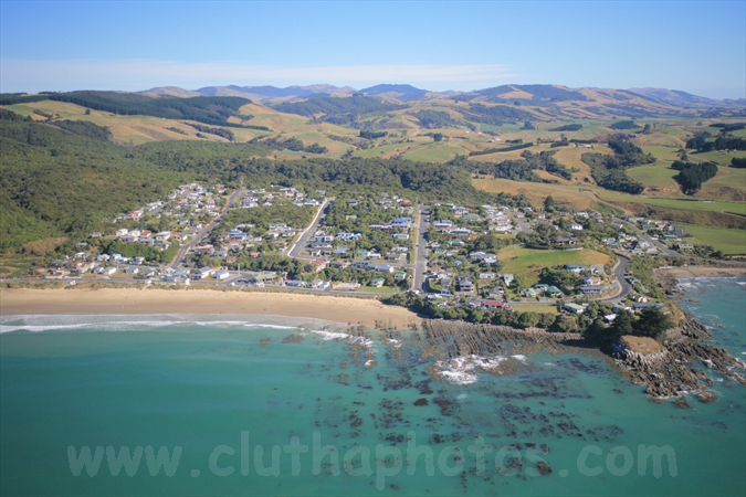 Kaka Point,aerial,The Catlins,South Otago,Clutha District