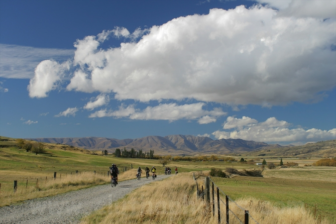 Otago Central Rail Trail Ida Valley