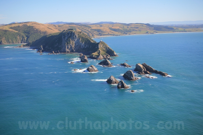 Nugget Point,aerial,The Catlins,South Otago,Clutha District