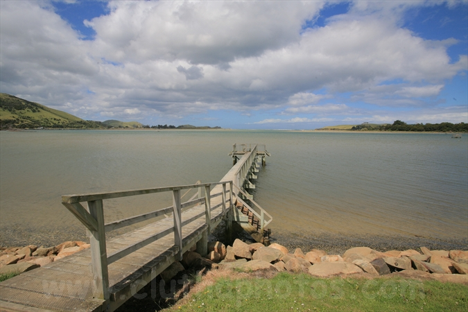 pier,Pounawea,The Catlins,South Otago,Clutha District