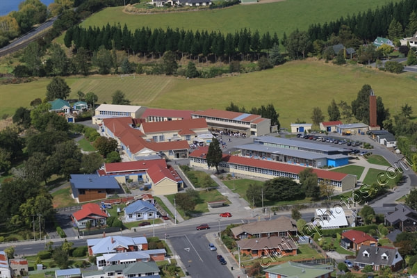 Picture, South Otago High School, aerial