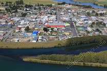 Picture, Balclutha, aerial
